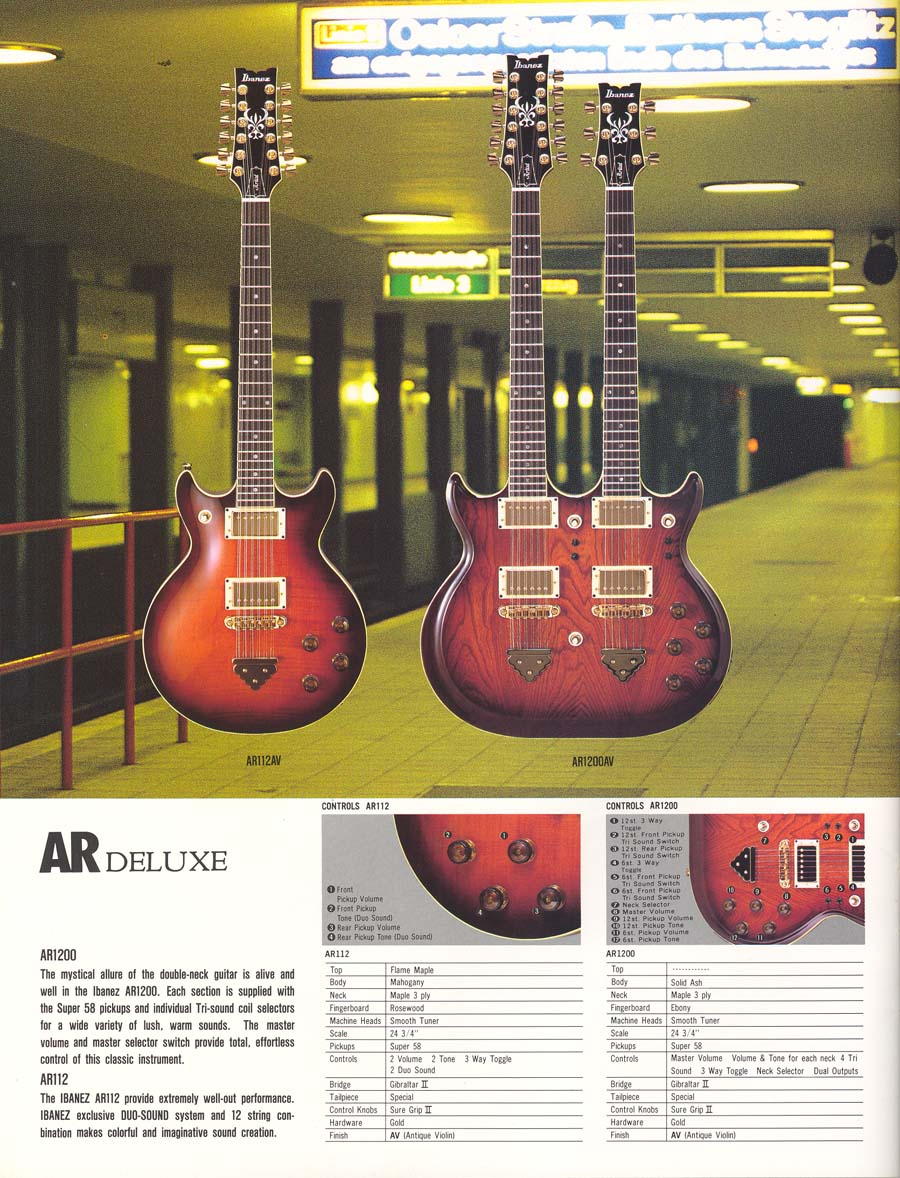 Ibanez Collectors World Why Does Ar1200 Have 2 Inputs Bass Guitar Wiring Diagram As Well Http Ibanezrulescom Catalogs Us 1983 84 Roadstar2 Artist P22