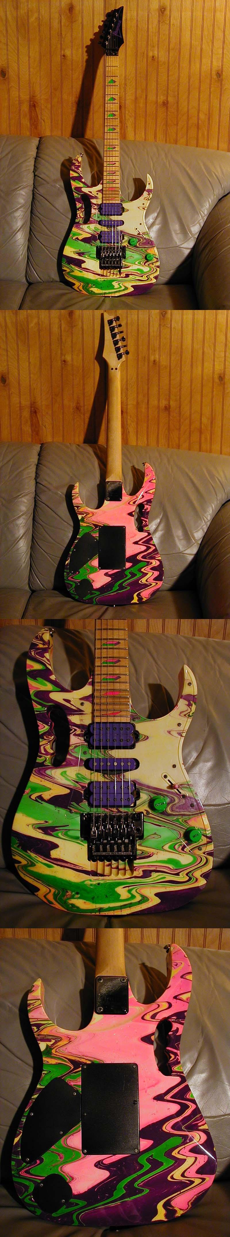 dean guitars custom zone fp