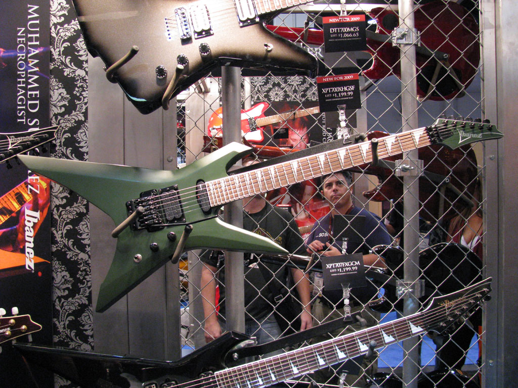 IBANEZ RULES!! NAMM 2009 DT/XPT/IC