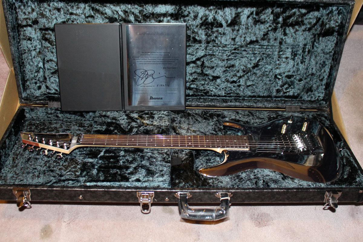 Ibanez Js1cr30 30th Anniversary Chromeboy Satriani